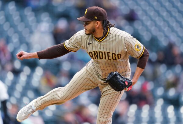 San Diego Padres starting pitcher Dinelson Lamet