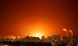 Dozens Dead as Hamas, Israel Escalate Aerial Bombardments
