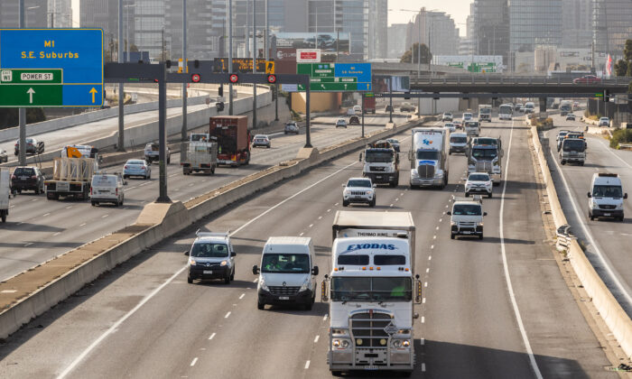 Australia's infrastructure budget spend for 2021-22 will upgrade roads across the country. (Asanka Ratnayake/Getty Images)