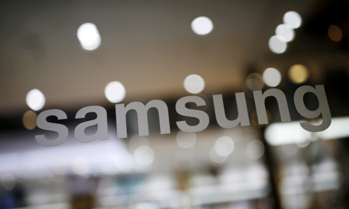 The logo of Samsung Electronic is seen at its headquarters in Seoul, South Korea on April 4, 2016. (Kim Hong-Ji/Reuters)