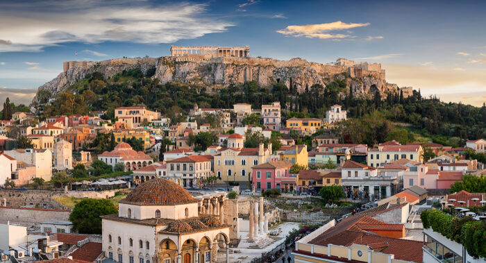 Even in the heart of Athens's historic heart, there are plenty of back lanes and hidden squares to be explored. (Sven Hansche/Shutterstock)