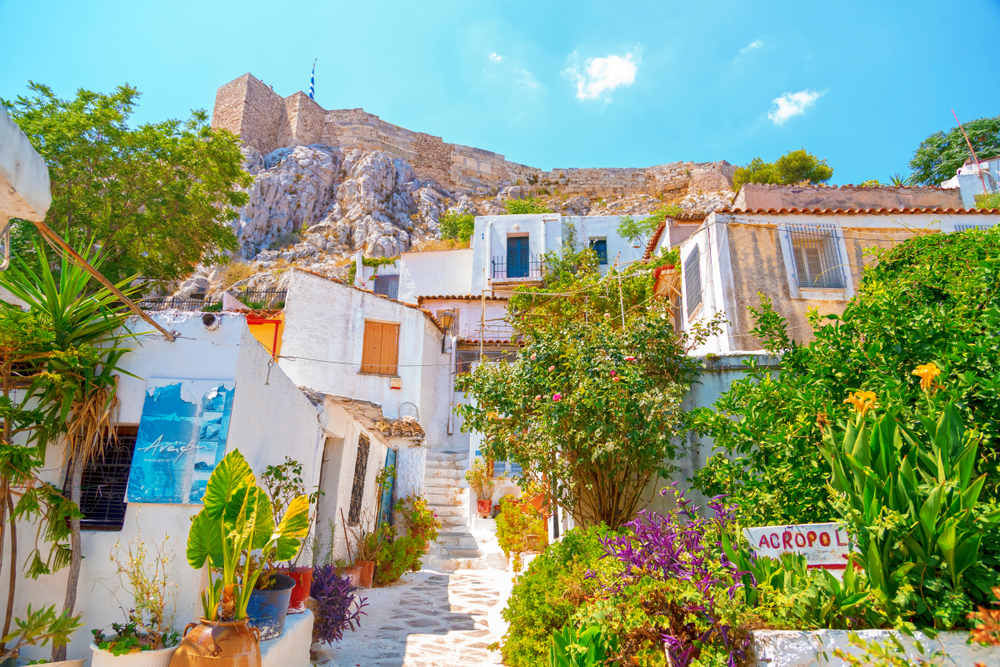 Athens,,Greece,-,July,21,,2018:,Architectural,Details,From,The
