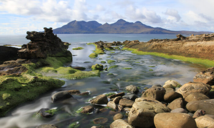 A view of the Isle of Rum from the Isle of Eigg. (Arthur Campbell/Shutterstock)