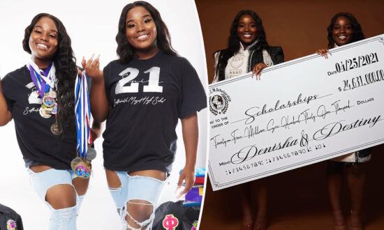 Identical Twin Sisters Earn Over $24 Million in Scholarships, Receive 200-Plus College Offers