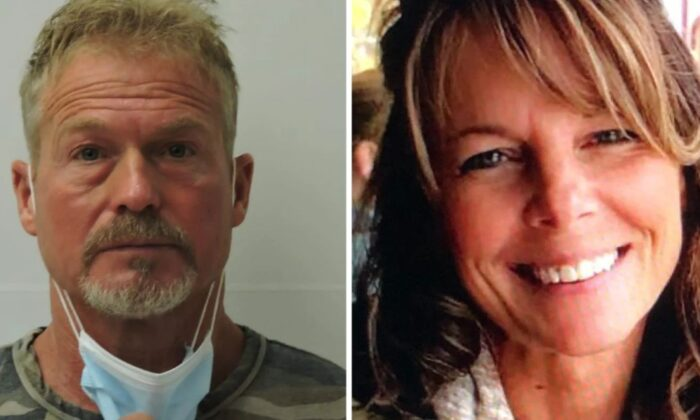 Barry Morphew (L) and Suzanne Morphew in file photos. (Chaffee County Sheriff's Office)