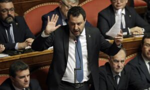 Judge Dismisses Migrant Case Against Italy's Matteo Salvini