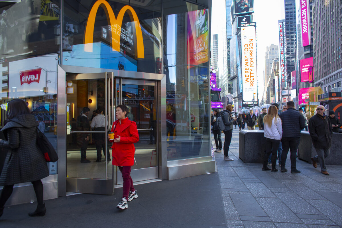 McDonalds Is No Role Model for Public Health