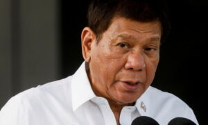 Philippines' Duterte Says Won't Withdraw Ships From Contested Waters