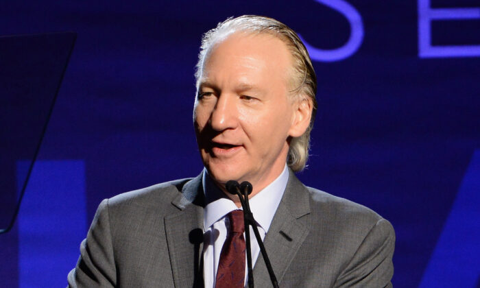 Bill Maher speaks at an event in Beverly Hills, California on Jan. 7, 2017. (Michael Kovac/Getty Images for J/P Haitian Relief Organization)