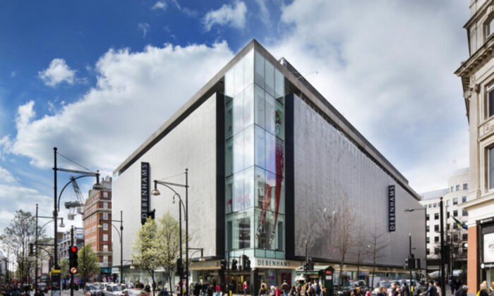 Oxford Street Debenhams, London, in 2019. (Debenhams/ press centre)