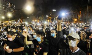 June 4 Vigil Organizer Says Candles Will Be Lit in Hong Kong's Victoria Park, Defying Beijing