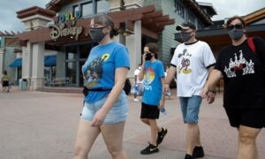 Disney World and Other US Theme Parks Update Mask Rules