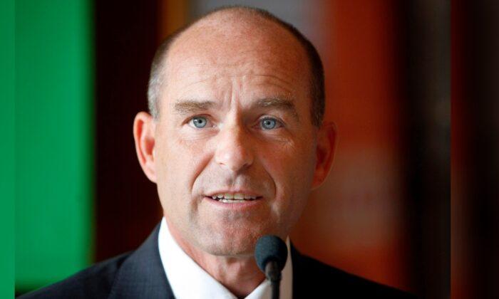 Karl-Erivan Haub is pictured in Muelheim, Germany, on Oct. 10, 2007. (Martin Meissner/AP Photo)