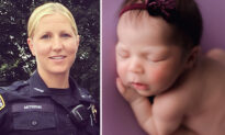 Officer Flagged Down by Frantic Parents Saves 9-Day-Old Baby's Life Who Stopped Breathing