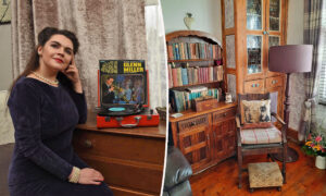 A Vintage Lover, Age 27, Transforms Her Home to Include 1940s Decor and Antique Objects