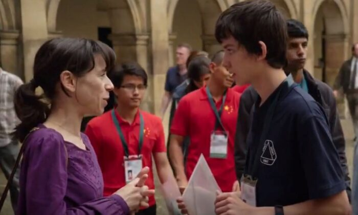 """Sally Hawkins and Asa Butterfield play mother and son in """"A Brilliant Young Mind."""" (Samuel Goldwyn Pictures)"""