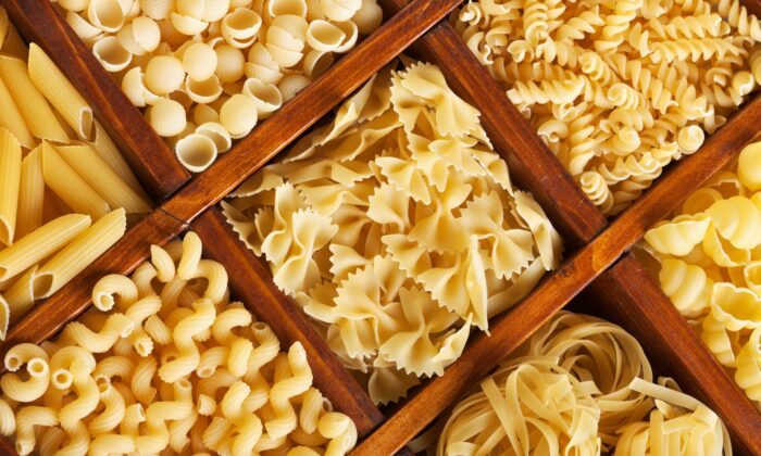 Pasta, one of the world's oldest processed foods, today comes in hundreds of different shapes. (Nagy-Bagoly Arpad/Shutterstock)