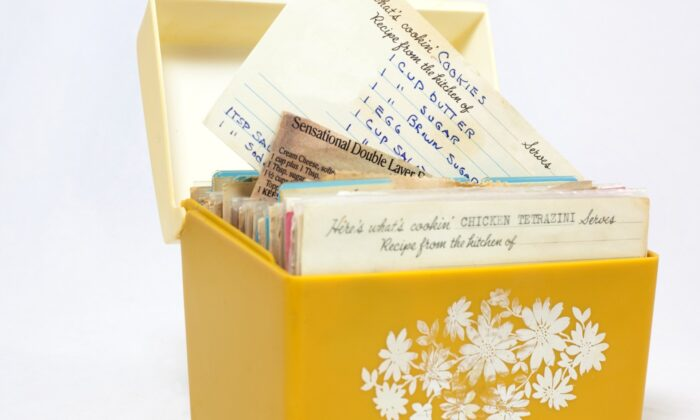The rediscovery of a box of old family recipes yielded some sweet, unexpected treasures. (Noel V. Baebler/Shutterstock)