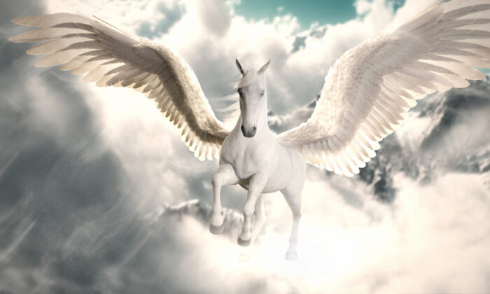 Pegasus is a beautiful monster, if such a thing may be. (Toshauna/Shutterstock)