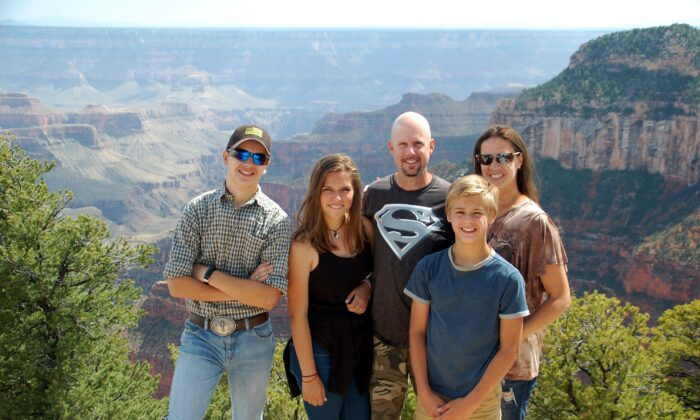 The Lundys are one of about 6,000 families that homeschool on the road. (Courtesy of the Lundys)