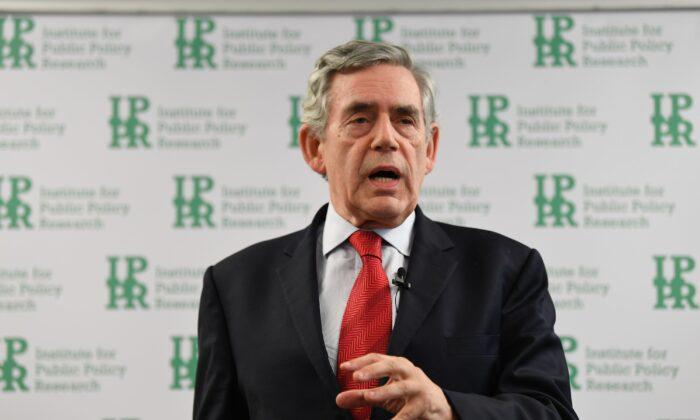 Former Prime Minister Gordon Brown in an undated file photo. (Victoria Jones/PA)