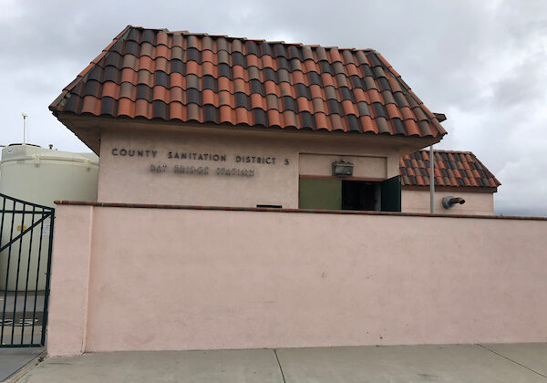 The Bay Bridge Pump Station in Newport Beach, Calif. (Courtesy of the Orange County Sanitation District)
