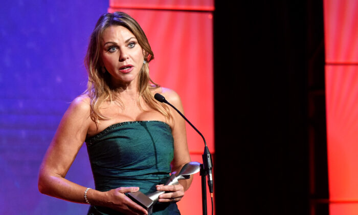 Honoree Lara Logan accepts an award onstage during the 42nd Annual Gracie Awards, at the Beverly Wilshire Hotel in Beverly Hills, Calif.,  on June 6, 2017. (Vivien Killilea/Getty Images for Alliance for Women in Media)