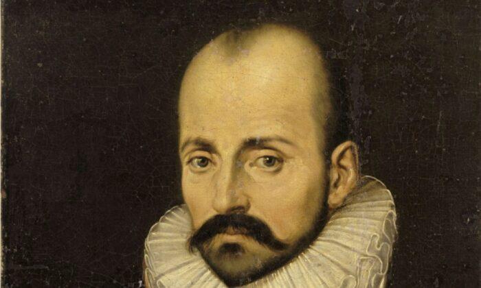 A portrait of Michel de Montaigne, circa 1570s. (Public Domain)