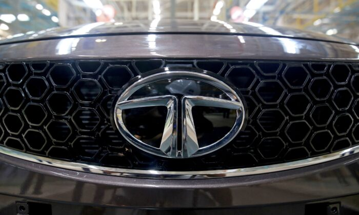 A Tata Tigor car is pictured at the assembly line inside the Tata Motors car plant in Sanand, on the outskirts of Ahmedabad, India, on Aug. 7, 2018. (Amit Dave/Reuters)