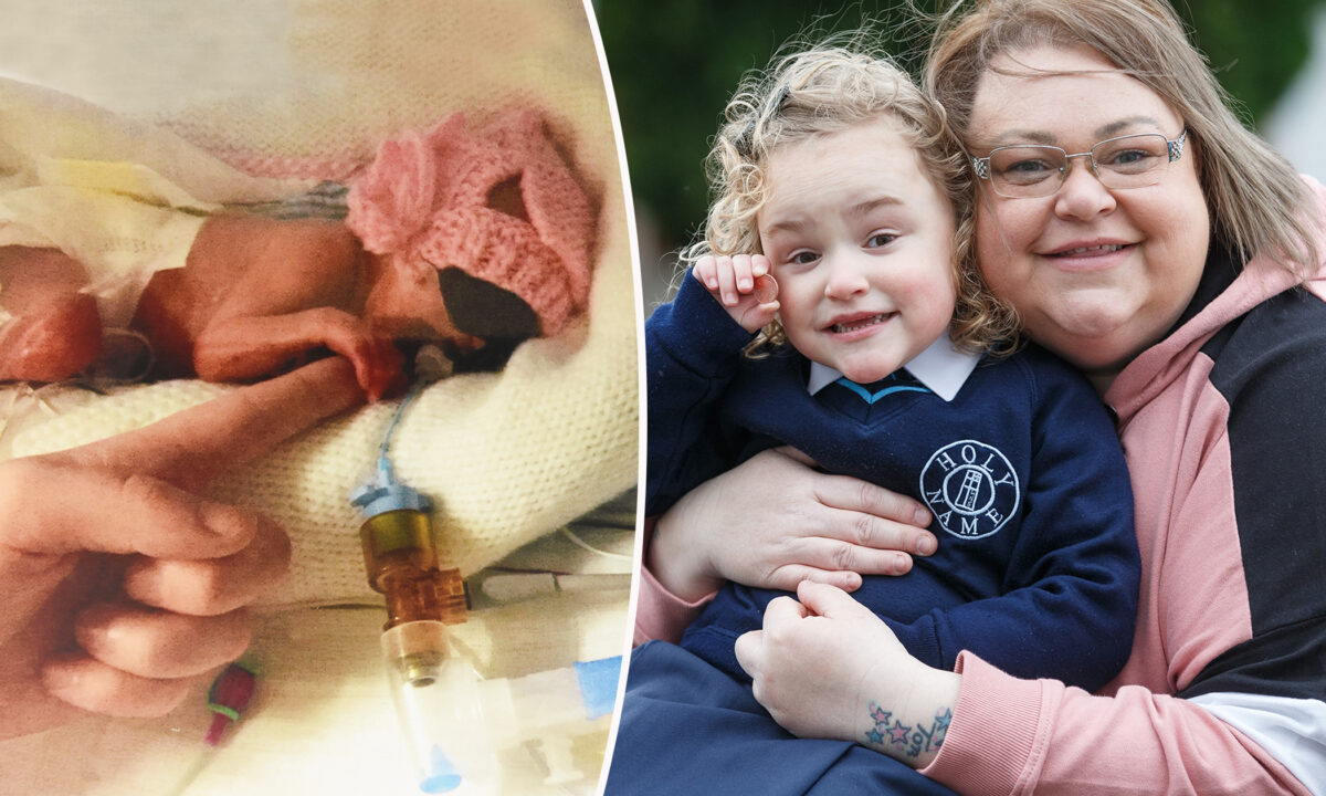 Baby Born at 24 Weeks With Feet the Size of a Penny Defies the Odds, Now Shes Walking