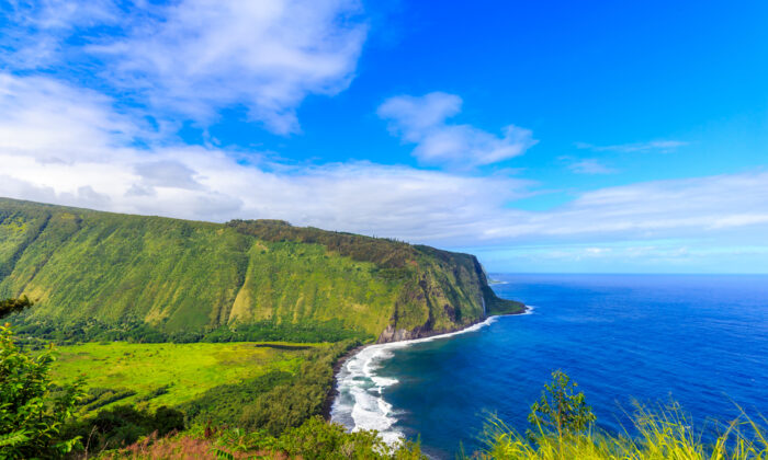 The view from Waipi'o Valley. (Png Studio Photography/Shutterstock)