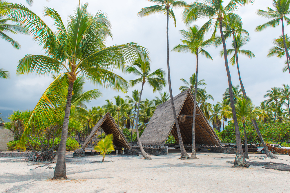 Ancient,Hawaiian,Village,,Pu'uhonua,O,Honaunau,National,Historical,Park