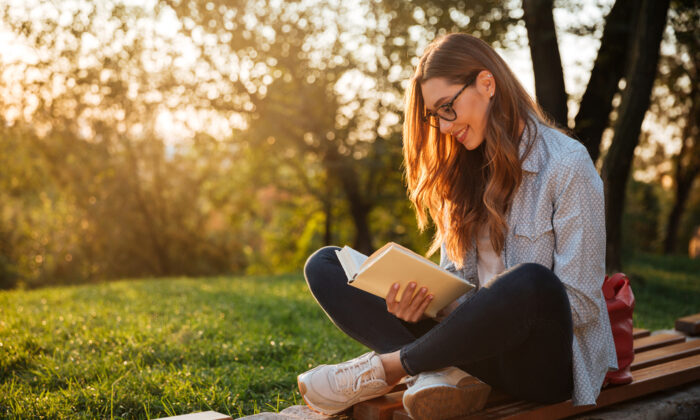 Reading a great work is best done at a slow, comfortable pace. (Dean Drobot/Shutterstock)