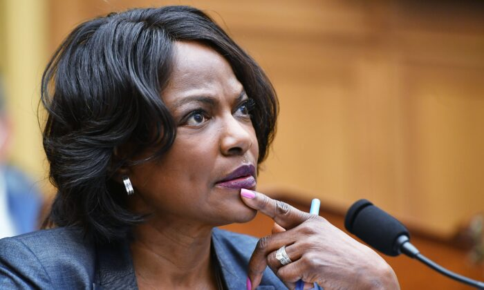 Rep. Val Demings (D-Fla.) speaks during a congressional hearing in Washington on July 29, 2020. (Mandel Ngan/Pool/AFP via Getty Images)