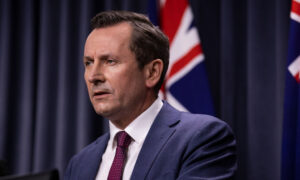 Western Australia Leader Laments Lack of 'Appreciation' for China From Eastern States