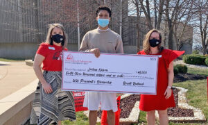 Teen Earns Scholarship, Decides to Donate His Own Savings to Another Student in Need