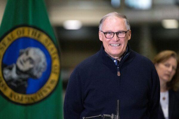Washington State Governor Jay Inslee