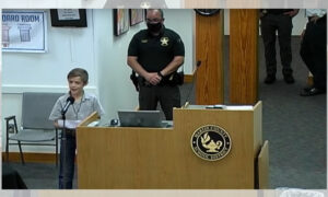 Florida Fourth Grader Speaks Against Mask Mandate at School Board Meeting: 'The Rules Aren't Fair'