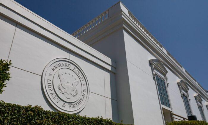 The Richard Nixon Presidential Museum and Library in Yorba Linda, Calif. (John Fredricks/The Epoch Times)