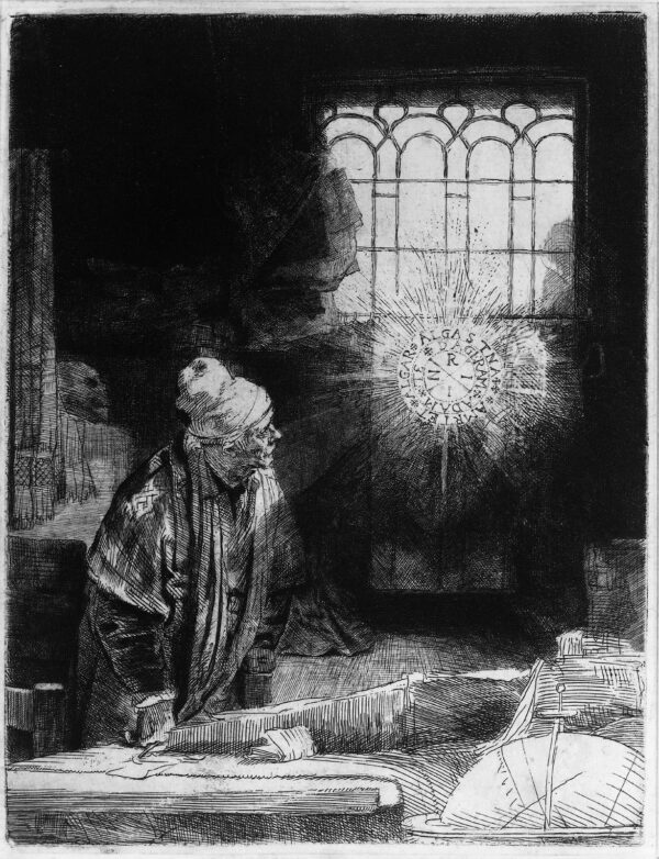 faust by rembrandt