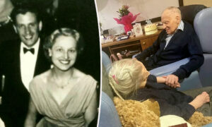 Couple Married for 76 Years and Born Just a Day Apart Celebrated 100th Birthday Together
