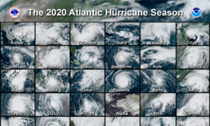 NOAA Predicts 13 to 20 Named Storms This Hurricane Season