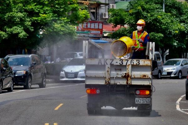 taiwan covid on May 13