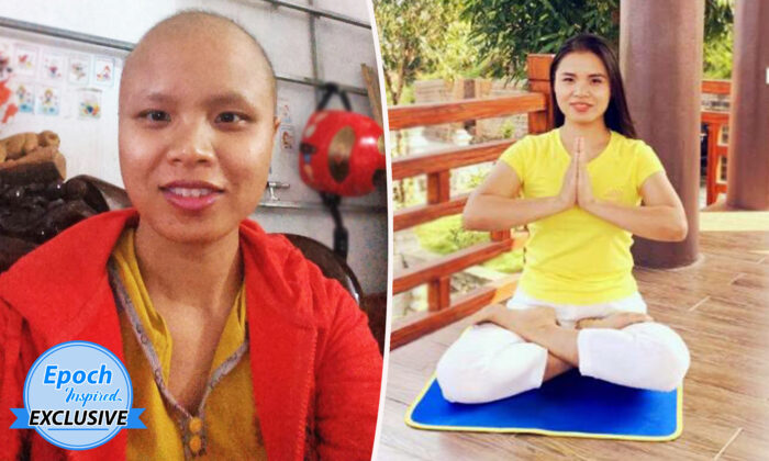 Thu Hien Ta, 33, from Vietnam, was diagnosed with stage-3 breast cancer in early 2015. She says the ancient self-improvement cultivation practice of Falun Gong restored her health by late 2015. (Courtesy ofThu Hien Ta)