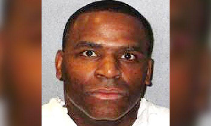 This undated handout photo shows Quintin Jones. (Texas Department of Criminal Justice via AP)