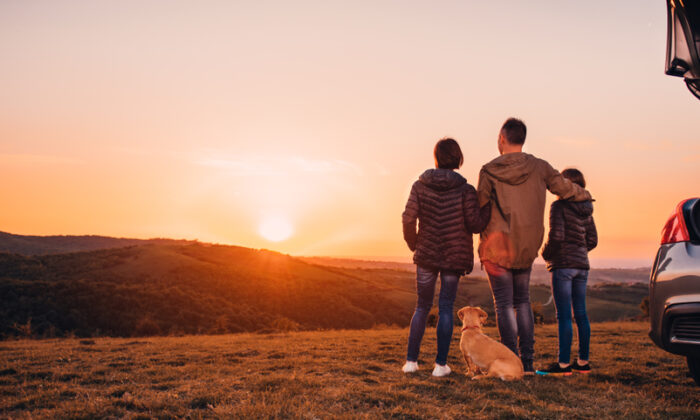 Take the family to get away, relax, and enjoy this big, beautiful country we love. (Zivica Kerkez/Shutterstock)