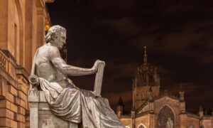 Intellectual Stormtroopers Force Suspension of Scottish Academic for Not Criticizing David Hume