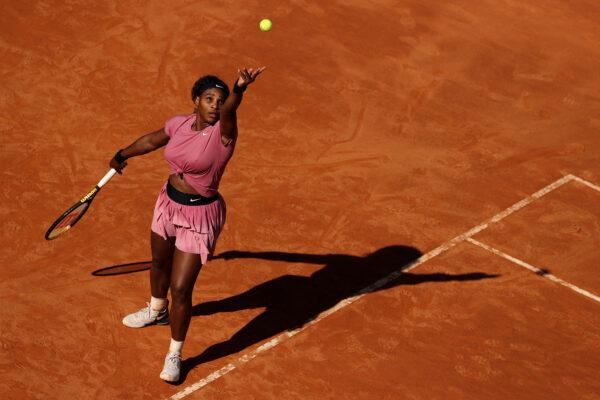 Serena Williams on day 5 of the Internazionali BNL