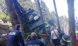 Italian Cable Car Crash Kills 14 People, Child Seriously Hurt