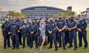 Florida Police Department Makes College Graduation Memorable for Fallen Officer's Daughter